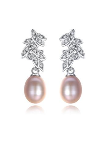 SUNRAIS silver High-grade colored stone silver fashion earrings EDA46ACDC7B6FFGS_1