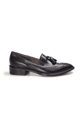 Shu Talk black XSA Italian Handmade British Style Pointy Tassel Loafers A5CDESHFE653F6GS_1