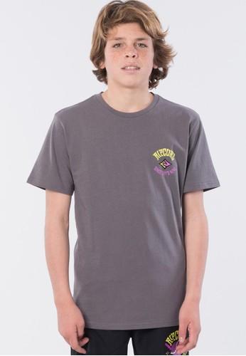 Rip Curl grey Shaka Wave Tee - Boys (8-16 years) 6785DKAF2E6C19GS_1