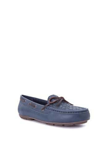 Kickers navy Vanya Boat Shoes KI766SH0JFCUPH_1