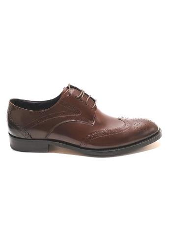 Kings Collection brown Rooney Derbies Shoes 0DDDFSH38D5D13GS_1