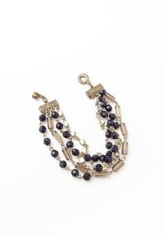 Multistranded Bracelet in Midnight