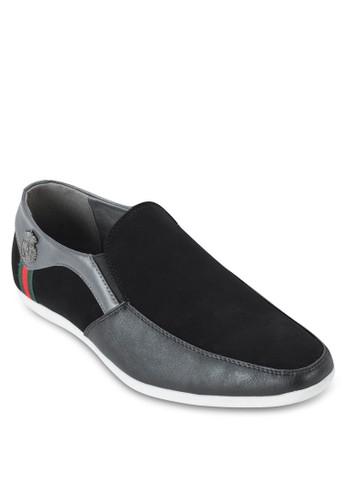 U 頭拼接樂福懶人鞋, 鞋,esprit hk 懶人鞋