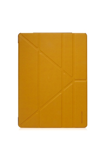 Monocozzi yellow Lucid - Translucent Folio For iPad Pro W/ Auto On-Off MO983AC67AHSHK_1