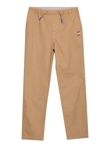 Giordano brown Junior Essential Khakis 87BD1KA6005A16GS_1