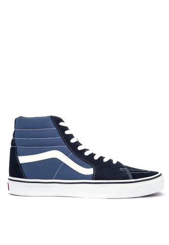 Vans multi and navy SK8-Hi Sneakers 7FA17SHD8A8A27GS_1