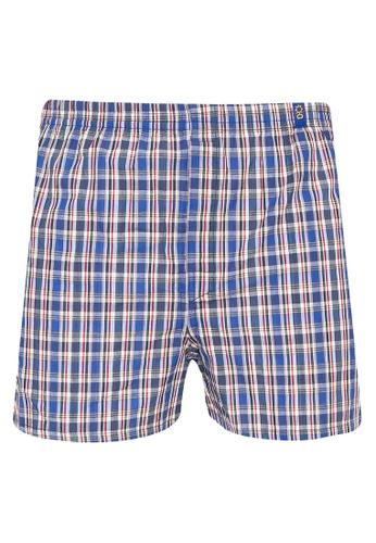 Sunjoy multi Checkered Boxer Shorts 3A233USC25B1BDGS_1