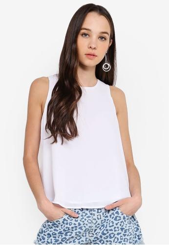 Cotton On white Ella Tank Top F839FAA4A5E2ABGS_1