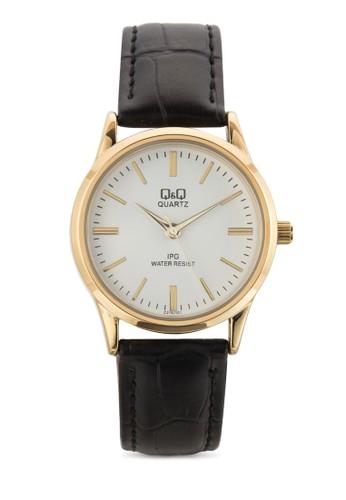 C215esprit台灣官網J101Y 刻度顯示圓框手錶, 錶類, 飾品配件