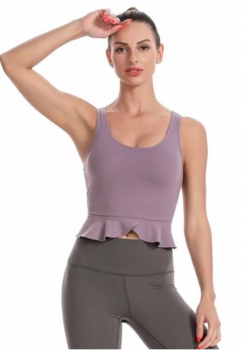 Trendyshop purple Quick-Drying Yoga Fitness Sports Sleeveless Bras 9C693US95A0618GS_1