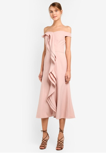 JARLO LONDON pink Amelia Dress JA676AA0SAXFMY_1