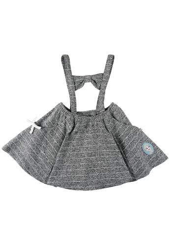 KIDS ICON grey KIDS ICON - Baby Terry Skirt Anak Perempuan FROZEN 04-12 Tahun with Detail Printing - FZR00100200 351EAKA2B8A934GS_1