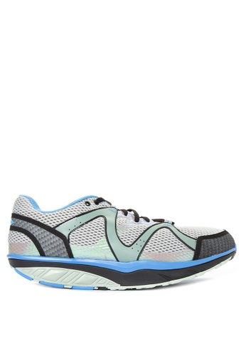 MBT grey and blue Sbra Trail 5 Lace up Sneakers MB619SH37KMSPH_1