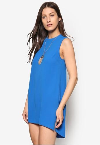 Petite 前短後長項鍊連身裙、 服飾、 服飾DorothyPerkinsPetite前短後長項鍊連身裙最新折價