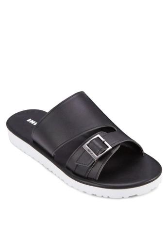 寬zalora taiwan 時尚購物網鞋子帶鏤空休閒拖鞋, 女鞋, 涼鞋
