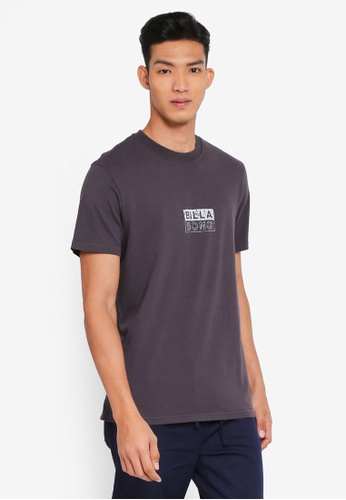 Billabong 灰色 休閒印花T恤 F2254AA0EDC46AGS_1