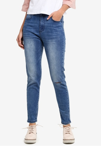 Something Borrowed blue Sky High Skinny Jeans 76E53AAAE616C9GS_1