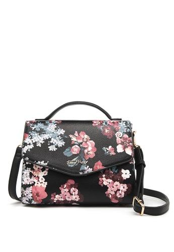 d7c54eedb33e Fancy Rosy black Rosy Romance Top Handle Shoulder Bag 1566BAC5BB3F72GS 1