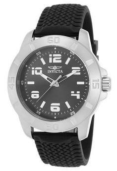 Pro Diver Men 45mm Case Polyurethane Strap Dial Quartz Watch 21857