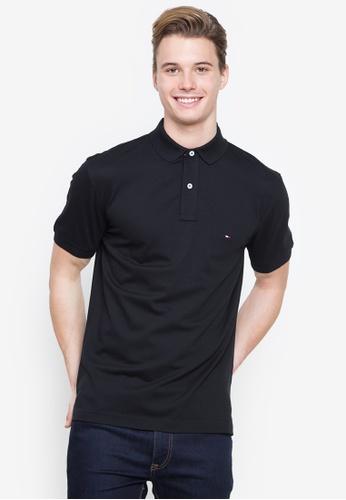 Tommy Hilfiger black Core Tommy Regular Polo Shirt E77DFAA6DAE092GS_1