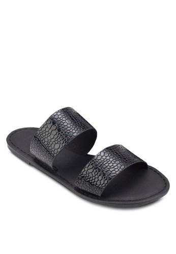 Kendall 雙寬帶涼鞋, 女esprit 童裝鞋, 鞋