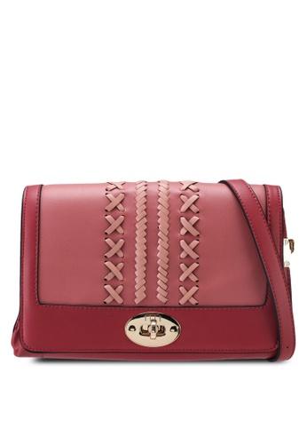 ELLE pink Gabriel Crossbody Bag 5744EAC50C0710GS_1