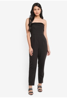 8c7c53248a0 Strapless Woven Jumpsuit CF3CAAAC5000A2GS 1