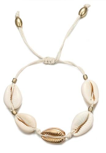 Sunnydaysweety white Boho Seashell Bracelets CA030209 4B3AEAC32E6291GS_1