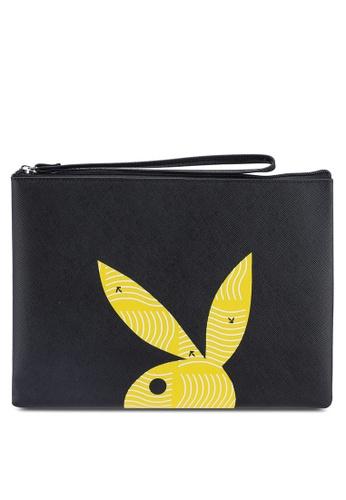Playboy black Playboy Clutch Bag F4B33ACBD7FECBGS_1