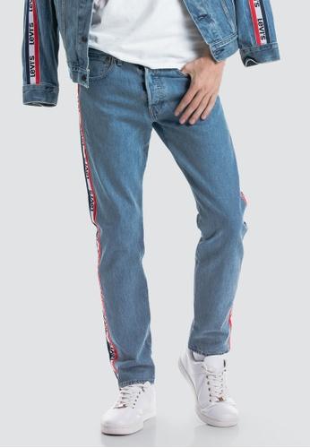 28f7d334 Buy Levi's Levi's 501® Taper Sports Stripe Jeans Online on ZALORA ...