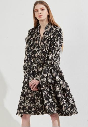 Workwear multi Scrunchydry Dress WO056AA56FITSG_1