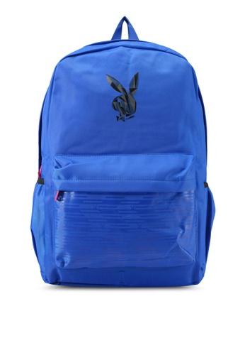 Playboy blue Playboy Casual Backpack PL371AC0SJYTMY_1