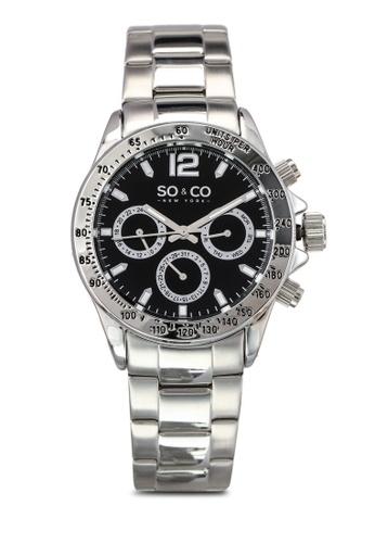 SO&CO silver Monticello Watch 5001 SO540AC0SHLBMY_1