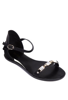 Camille Flat Sandals