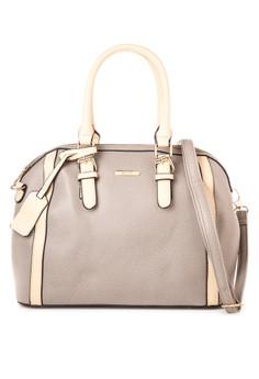 2-Tone Saffiano Doctor's Bag