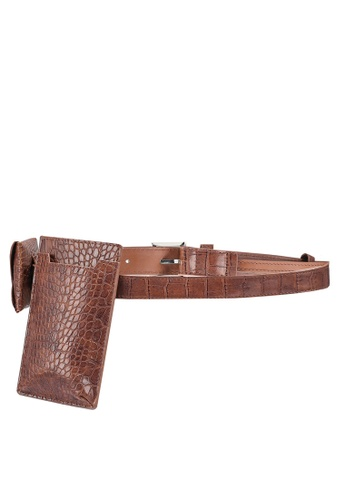 niko and ... brown Belt With Pouch B5E20ACF995C3DGS_1