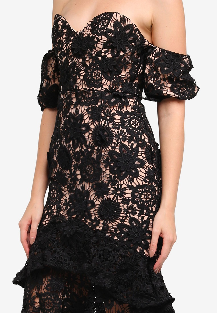 Merrilee Dress Dress Black Merrilee JARLO JARLO LONDON LONDON FOOwdSnvqg