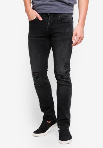 Cotton On 灰色 修身牛仔褲 A64D4AA7FE26F0GS_1