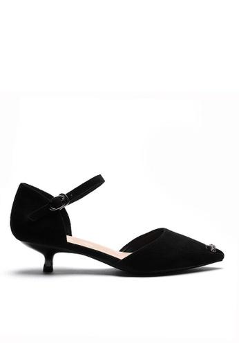 Twenty Eight Shoes Suede Fabric Strap Mid Heel 395-2 1E1E7SH652BBD4GS_1