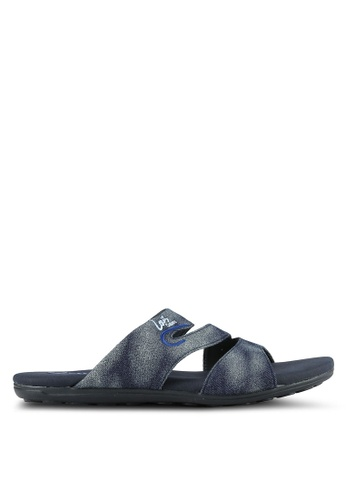 Louis Cuppers blue Double Strap Sandals 90B79SHD10D9FEGS_1