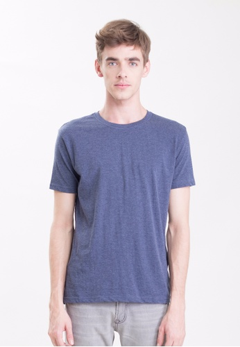 Drum Plain Basic Tee-NBL DR425AA0RYX4MY_1