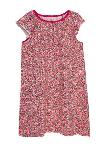 Du Pareil Au Même (DPAM) red Floral Night Dress D67D6KA2D37A08GS_1