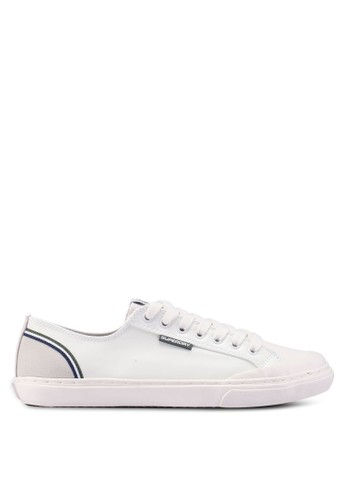 Superdry white Low Pro Retro Sneaker 633E0SHBE4D9E9GS_1