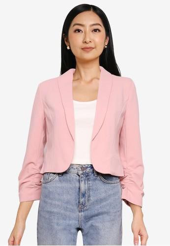ONLY pink Carolina-Diana Short Blazer E3E72AA16C4E55GS_1