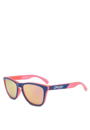 Oakley 多色 反光鏡片鏡框太陽眼鏡 68A13GL65723C8GS_1