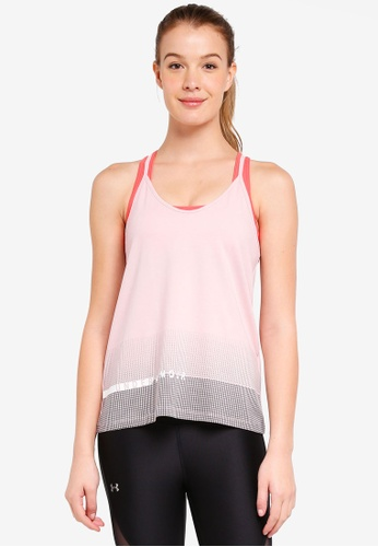 Under Armour pink UA Graphic Tank Top 9013DAADD2630BGS_1
