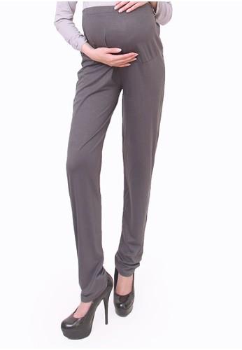 Eve Maternity grey Jumbo Maternity Legging Pants 573D5AA7038031GS_1