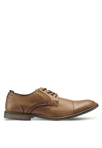 Bata brown Business Dress Shoes 042CFSHF9AEE9CGS_1