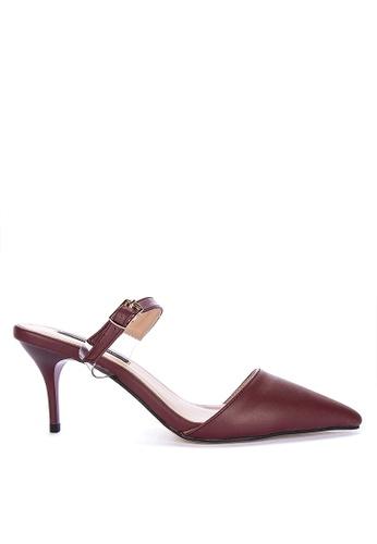 Primadonna brown Pointed Heels 29969SHD21468EGS_1