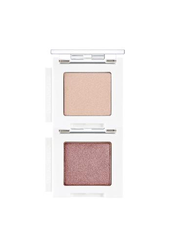 Mono Cube Eyeshadow (Glitter) PK02 Rose Biscotti